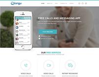 Free calls and messaging app website