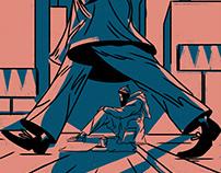 Editorial illustration 12/2020 Pismo Magazine