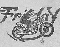 Friday Cafe Racer