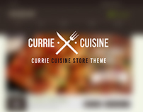 CURRIE CUISINE Store Theme
