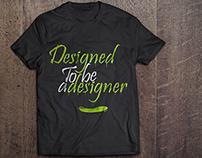 Designed to be a designer