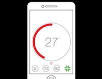 Simplified Timer App