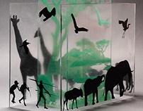Installation silkscreen_Africa