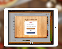myFlavors™ iPad App Design