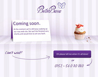 BETSU-BARA Cupcakes Website