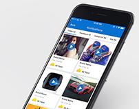 Fooz Mobile App UI