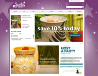 Scentsy Independent Consultant Personal Website