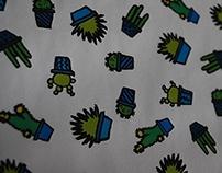 Cactus Print Design
