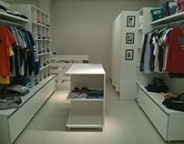 Box Outlet - Projeto de Interiores para loja.