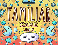 Familiar Game Jam #1 - Event Poster & Promotion