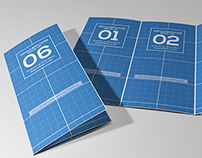 Tri-Fold Brochure Mock-Ups Vol 01
