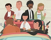 Pulp Fiction - Quentin vs Coen