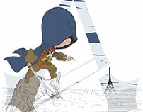 Assassin's Creed Unity Contest: Chibi Arno