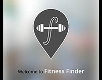 Fitness Finder UI Design Concept