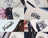 Typography: Rainy September