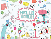 "Poster ""Hello World!"""
