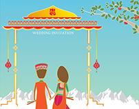 Wedding Invite Design_Siddhi & Pranav