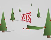 Red Christmas with ZAS