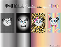 Which Panda are you?