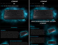 Web Design - Gaming products