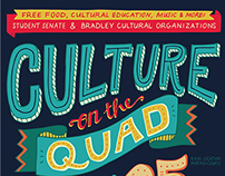 Culture on the Quad Poster