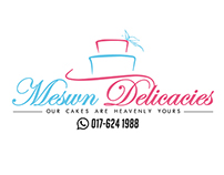 COMMISSION (LOGO DESIGN) - MESWN DELICACIES