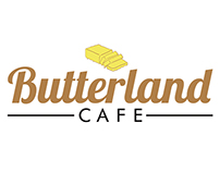 COMMISSION (LOGO DESIGN) - BUTTERLAND CAFE