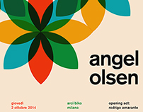 Angel Olsen - Poster