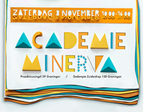 Open day poster for Academie Minerva
