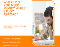 WHERE DO YOU NEED MONEY WHILE STUDY ABROAD?