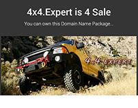 4x4.Expert  This is a NEW Domain Name Extension Site