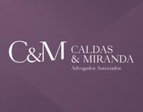 Logotipo Caldas & Miranda Advogados Associados