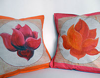 Lotus pillows