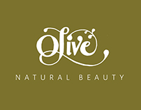 Olive Natural Beauty Branding