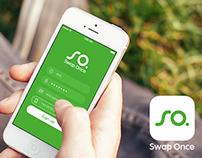 Swap Once iOS app redesign