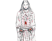 Etro Spring 2015 Illustration