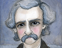 Mark Twain, A Illustrated Writers Portrait