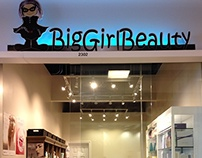 BigGirlBeauty Retail and Online Shop Project