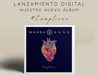 ART DIRECTION / DIRECCION DE ARTE WAMBA BAND CD