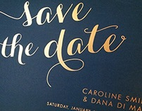 Caroline + Dana: Save the Date