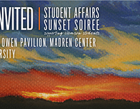 Sunset Soireé Invitation