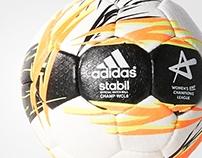 EHF Champions League Handball 2015 - adidas Stabil