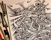 PenDrawing 369 Days work~