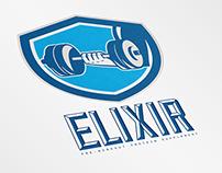 Elixir Pre-Workout Protein Supplements Logo