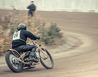 Full throttle on gravel