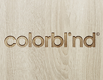 Colorblind Logo & design concept