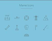 Maine Icons