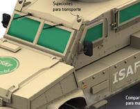 RG-31 mine protected vehicle