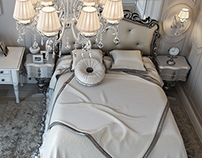Bedroom Neoclassical Soft grey