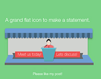 Meeting Flat Icons